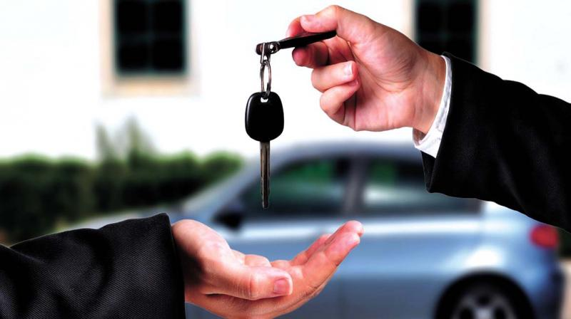 Renting luxurious cars